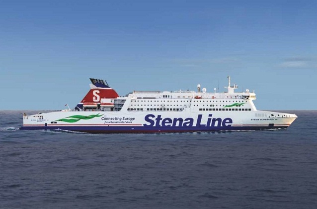 Stena Line Ferry in Near Miss with Royal Navy Submarine 1