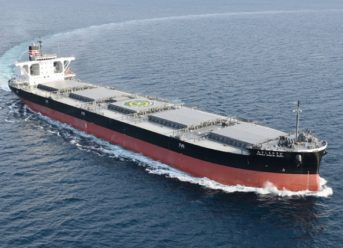 NYK: New Coal Carrier for HEPCO Delivered 6