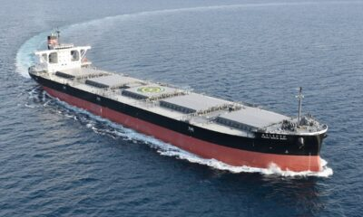NYK: New Coal Carrier for HEPCO Delivered 15