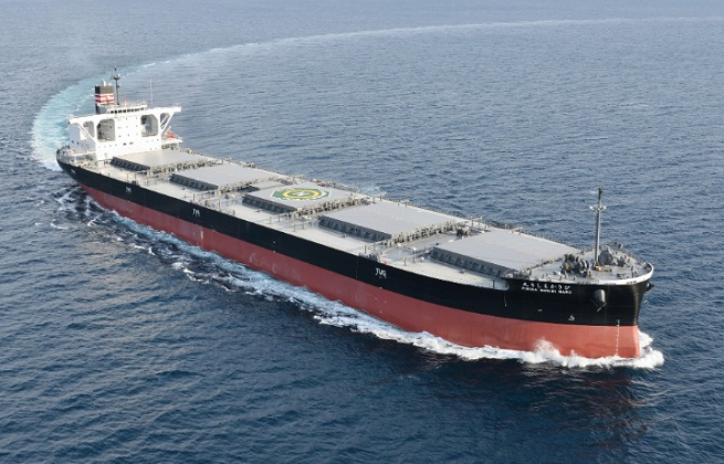 NYK: New Coal Carrier for HEPCO Delivered 1