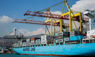 Fuel Spills from Maersk Ship during Bunkering in Hong Kong 6