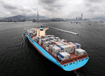 Maastricht Maersk Makes Maiden Call To Rotterdam 1