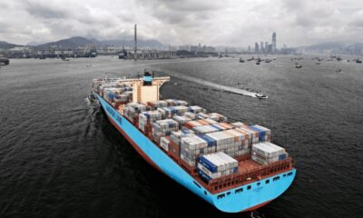 Maastricht Maersk Makes Maiden Call To Rotterdam 6