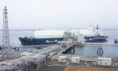 K Line's LNG Carrier in Maiden Call to Naoetsu Terminal 8