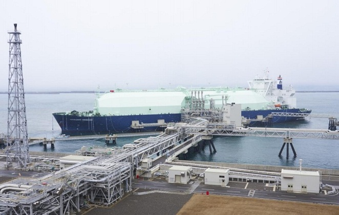 K Line's LNG Carrier in Maiden Call to Naoetsu Terminal 5