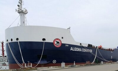 Algoma's Newest Self-Unloader Sets Sail for Canada 6