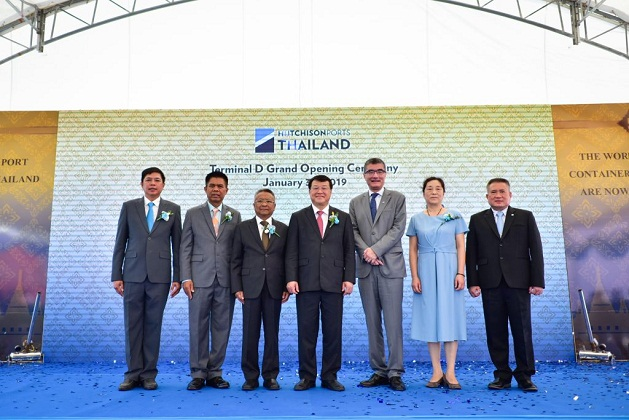 Hutchison Ports Opens Thailand's Largest Deep-Sea Container Terminal 2