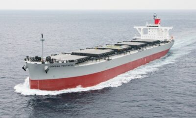 K Line Trials Binary Cycle Power Generation System on Newbuild Coal Carrier 12