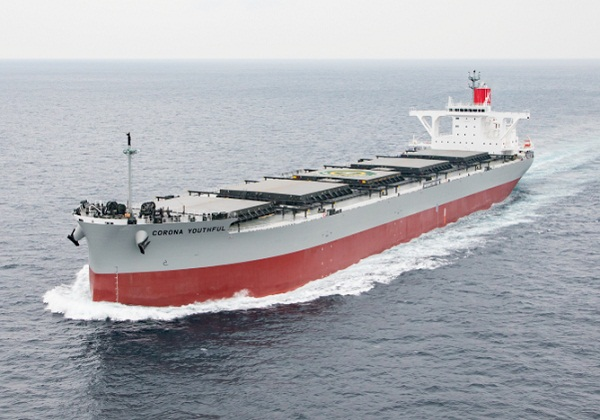 K Line Trials Binary Cycle Power Generation System on Newbuild Coal Carrier 5