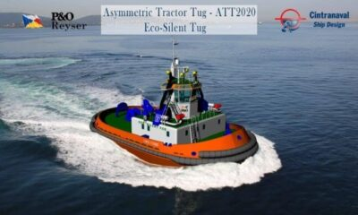 MAN 175D Becomes The First IMO Tier III-Compliant Harbour Tug Designed For Operation In Mediterranean 2