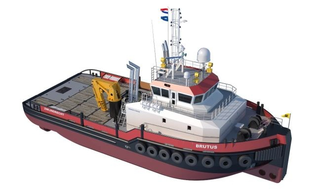 First Diesel-Electric Damen Shoalbuster 3514 DP2, IMO Tier 3 Ordered By Herman SR 1