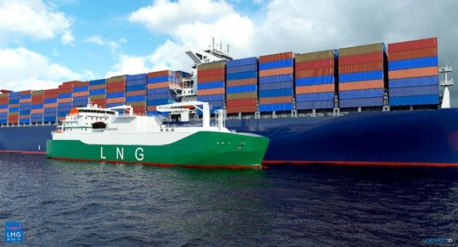 MOL Signs Long-Term Charter Contract To Operate Asia's Largest LNG Bunkering Vessel 1