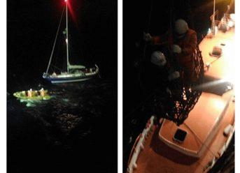 NYK Group Bulk Carrier Rescues Yachtsman In North Atlantic 4