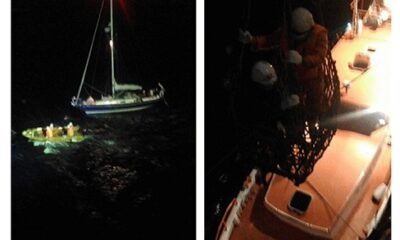 NYK Group Bulk Carrier Rescues Yachtsman In North Atlantic 11