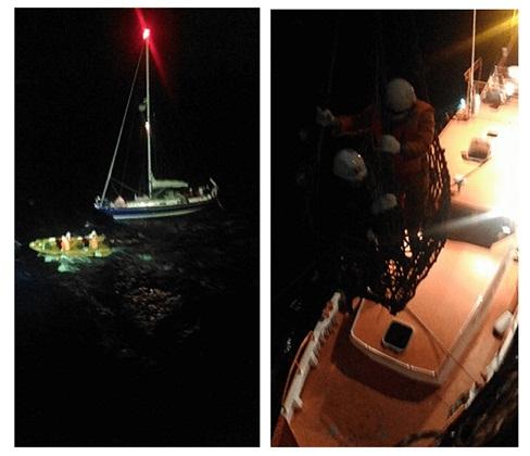 NYK Group Bulk Carrier Rescues Yachtsman In North Atlantic 1