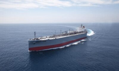 "K-Line Launches 200,000-dwt Bulk Carrier ""Cape Sapphire"" 6"