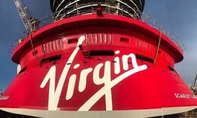 "Virgin Voyages' First Of Four Ships ""Scarlet Lady"" Floats Out In Sestri 11"