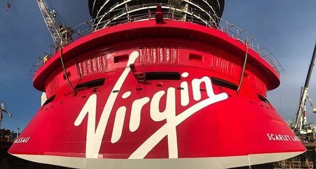 "Virgin Voyages' First Of Four Ships ""Scarlet Lady"" Floats Out In Sestri 6"