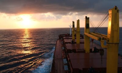 NYK Tests Biofuel on Dry Bulk Carrier 9