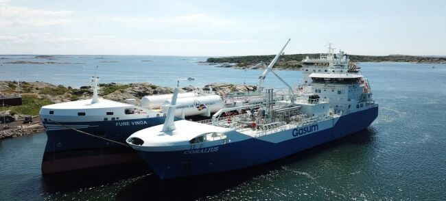 Coralius Reaches 100 Bunkerings Milestone As LNG Demand On The Rise 5