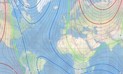 Earth's Northern Magnetic Pole Moving Away From Canadian Arctic
