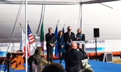 "Fincantieri Launches ""Seven Seas Splendor"" In Ancona 8"