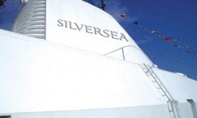 """Fincantieri Begins Dry Dock Works In Ancona On Silversea's """"Silver Moon"""" 6"""