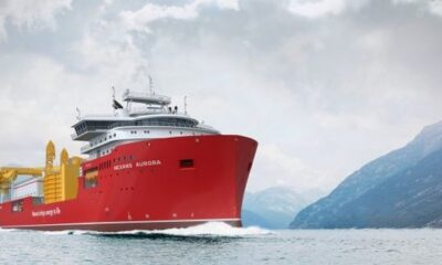 Nexans' New DP3 Cable Laying Vessel Passes First Major Milestone At Ulstein 5