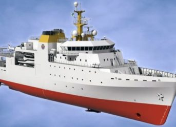 Kongsberg Hydroacoustic And Bridge Technology Chosen For New South African Navy Survey Vessels 1