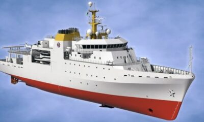 Kongsberg Hydroacoustic And Bridge Technology Chosen For New South African Navy Survey Vessels 5