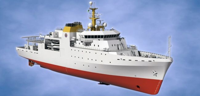 Kongsberg Hydroacoustic And Bridge Technology Chosen For New South African Navy Survey Vessels 2