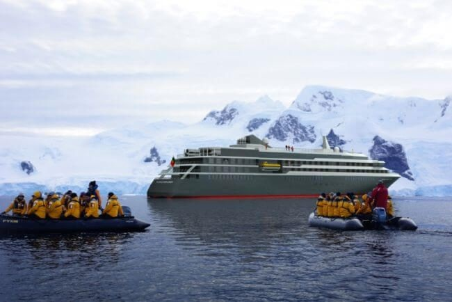 Mystic Cruises' New Expedition Ship To Fit FarSounder FLS 5