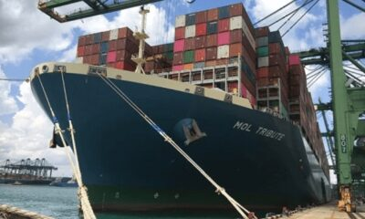 ONE Breaks Record For Highest Utilized Vessel 6