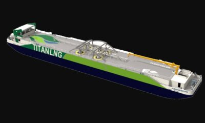 Fluxys And Titan LNG To Build LNG Bunkering Pontoon For Antwerp Port And Region 5