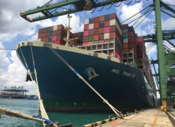 ONE Sets Container Loading Record of 19,000 TEUs 5