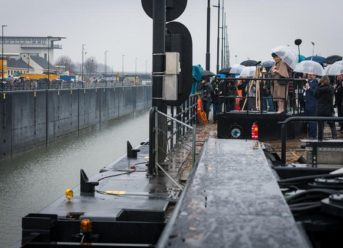 Princess Beatrix Lock Inaugurated in the Netherlands 2