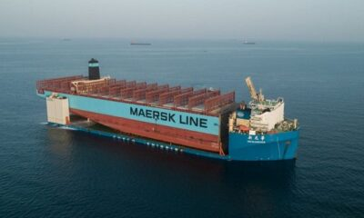 Maersk Honam Section on Its Way to South Korea