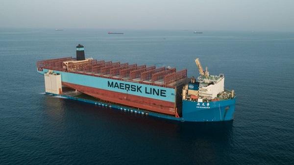 Maersk Honam Section on Its Way to South Korea