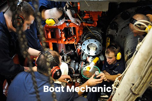 Boat mechanic