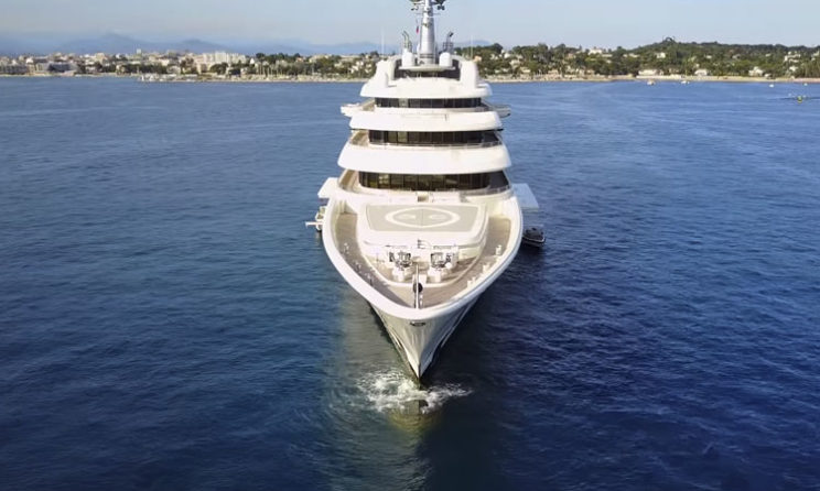 Eclipse Yacht: The World's Most Expensive Private Yacht ($1.5 Billion) 1