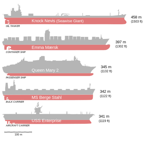 Knock Nevis: World's Largest Ship Ever & It's Last Journey To Alang 9