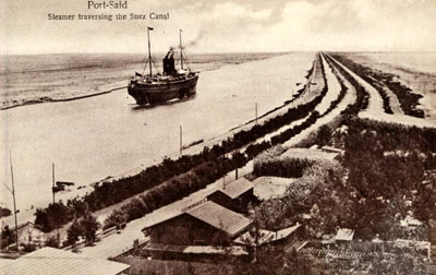 Suez Canal : Port Said [Suez Canal Facts]