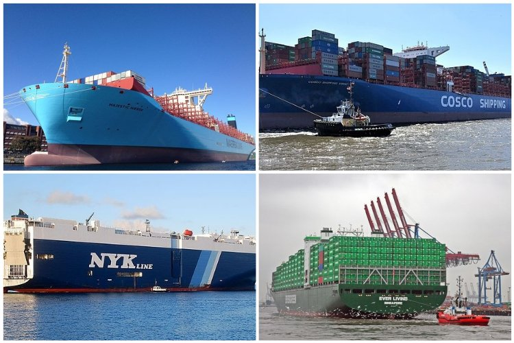 Top 15 World's Largest Container Ships In the World