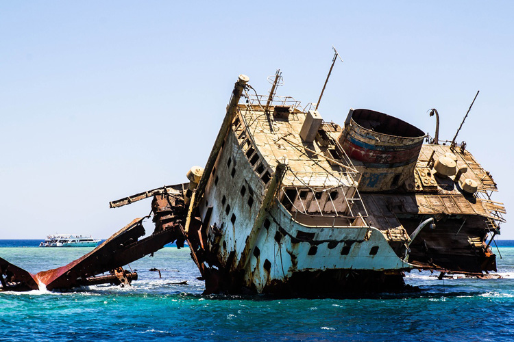 Shipwreck (Only for representational purposes)