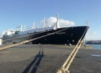 Damen Shiprepair Brest Carried Out Rapid Repairs To LNGC 'Methane Princess' 2
