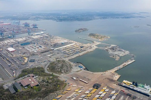 Port Of Gothenburg Reaches Its Turning Point In The Largest Development At Port 5