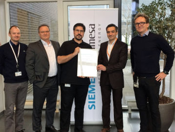 DNV GL Awards Project Certification To Siemens Gamesa's Offshore Wind Power Park 5