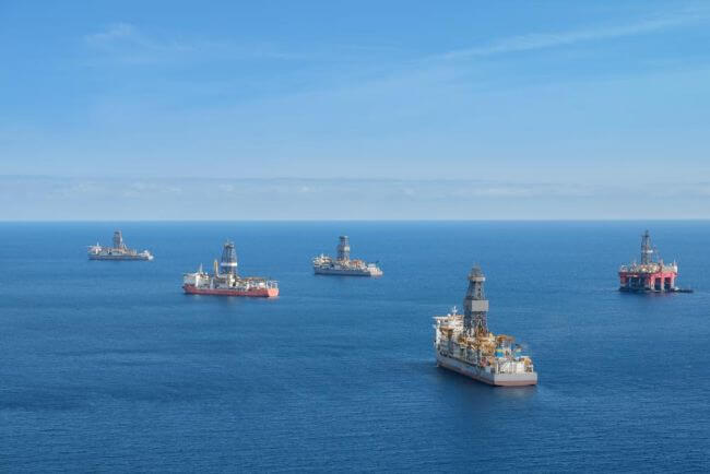 A New ONGC Record Of 35 Offshore Drilling Rigs To New Locations With Maximum Distance