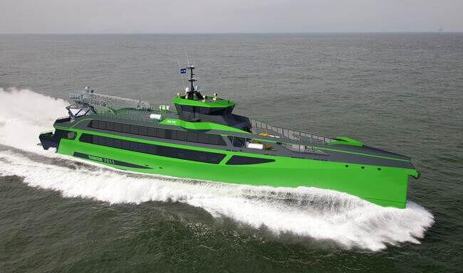 Damen Begins Construction Of The First Revolutionary New Design Concept Of FCS 7011