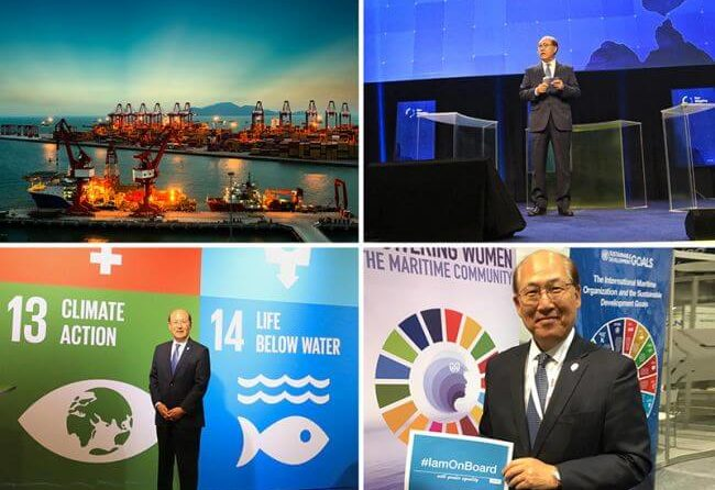 """IMO Secretary-General Marks The Keypoints On """"Sustainable And Balanced"""" Development"""